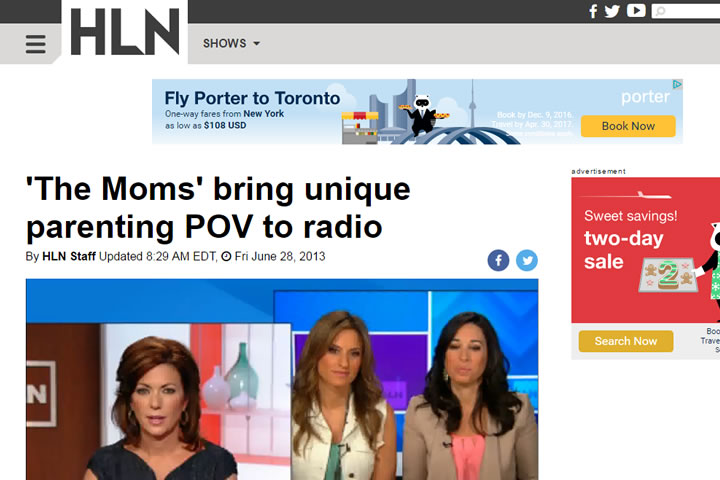 'The Moms' bring unique parenting POV to radio