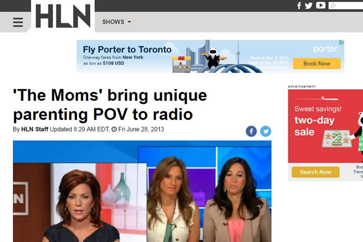 'The Moms' bring unique parenting POV to radio