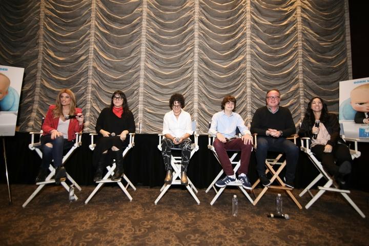 The MOMS & Miles Bakshi, Ramsey Naito, Tom McGrath and Marla Frazee