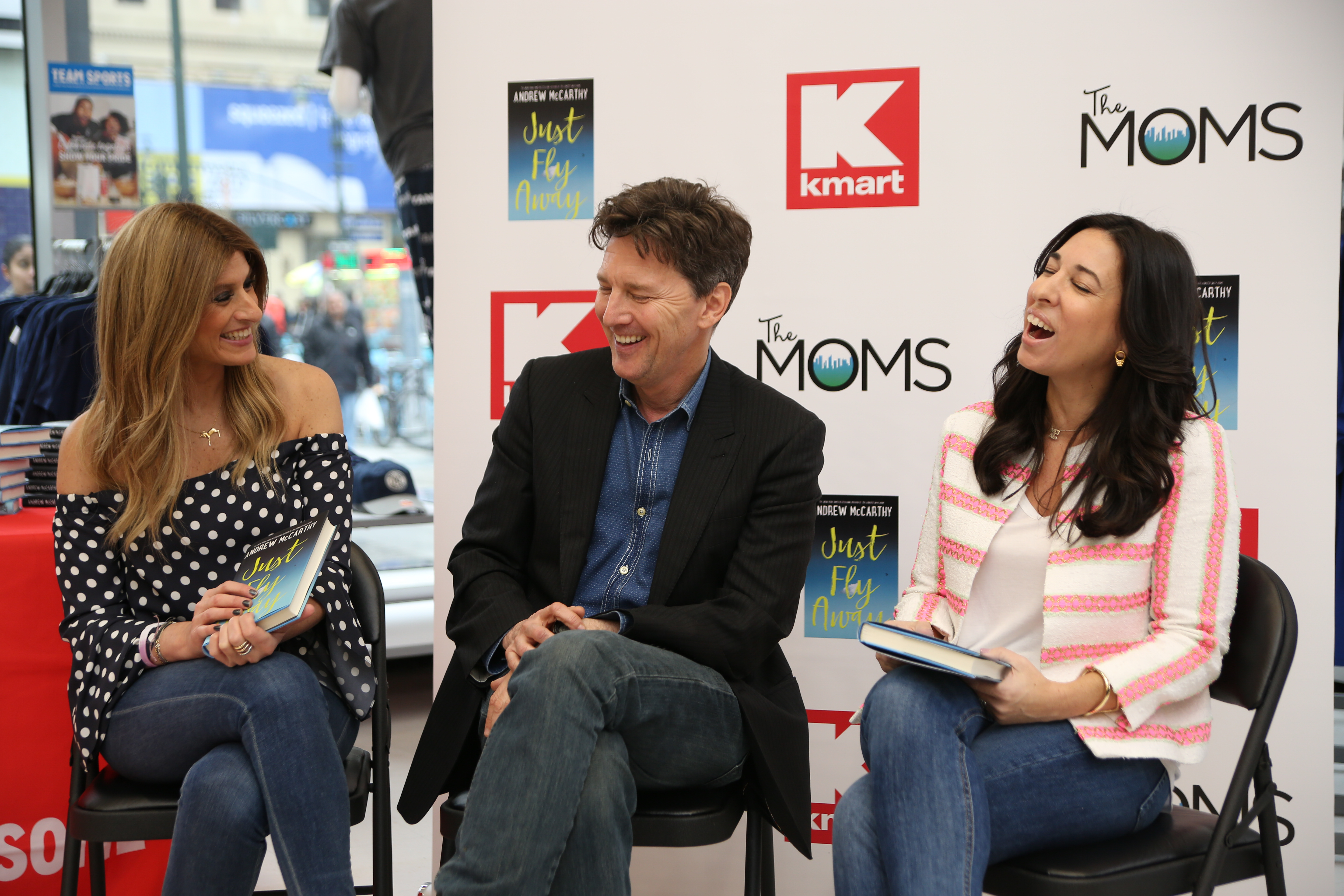 A Minute With The MOMS: Andrew McCarthy