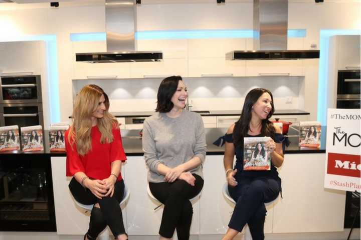 A Minute With The MOMS & Laura Prepon At Miele