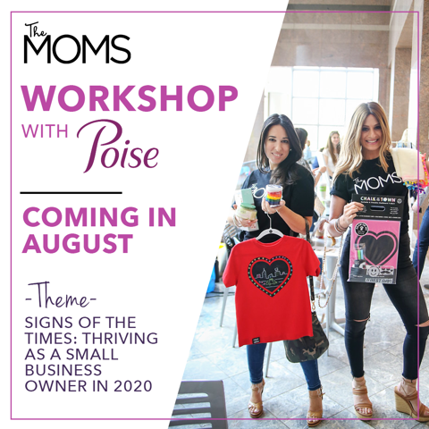 Poise® Partners with The MOMS to host Poise® Bounce Back Microgrants and Workshops